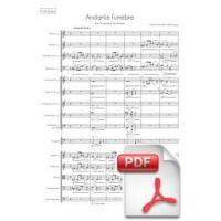 Svendsen: Andante Funèbre for Symphony Orchestra (Full Score)