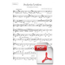 Svendsen: Andante Funèbre for Symphony Orchestra (Parts) [PDF] Preview PDF (Free download)