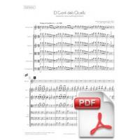 Ventura: El Cant dels Ocells, Sardana for Tenora and String Orchestra (Full Score) [PDF]