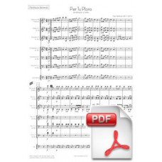 Ventura: Per tu ploro, Sardana for Cobla (Full Score) [PDF] Preview PDF (Free download)