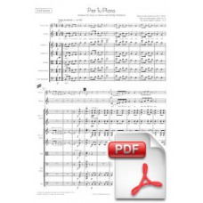 Ventura: Per Tu Ploro, Sardana for Voice or Tenora and String Orchestra (Full Score) [PDF]