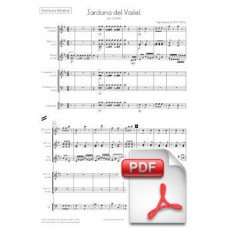 Ventura: Sardana del Vailet for Cobla (Full Score) [PDF] Preview PDF (Free download)