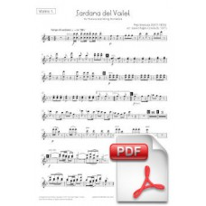 Ventura: Sardana del Vailet for Tenora and String Orchestra (Parts) [PDF] Preview PDF (Free download)
