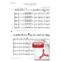 Ventura: Sardana del Vailet for Tenora and String Orchestra (Full Score)
