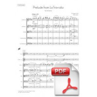 Verdi: Prelude from La Traviata for Orchestra (Full Score)