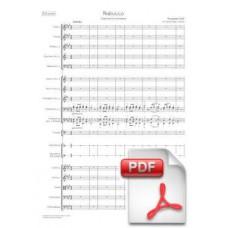Verdi: Nabucco, Overture for Orchestra (Full Score) [PDF]