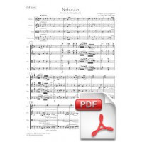Verdi: Nabucco, Overture arr. for String Quartet (Full Score and Parts) [PDF]